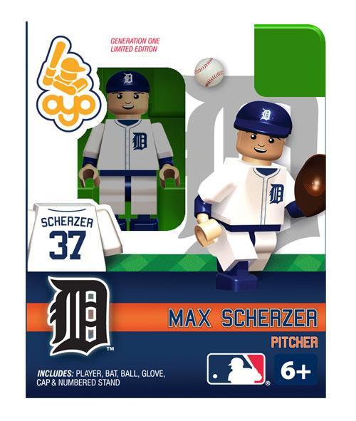 Detroit Tigers MLB Generation One Max Scherzer Minifigure