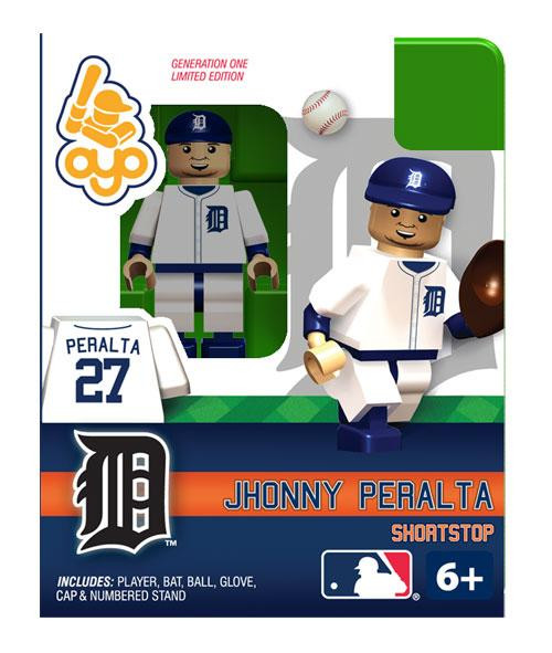 Detroit Tigers MLB Generation One Jhonny Peralta Minifigure
