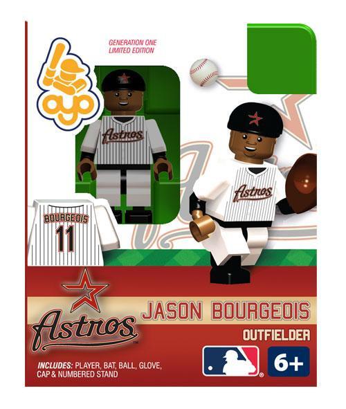 Houston Astros MLB Generation One Jason Bourgeoi Minifigure