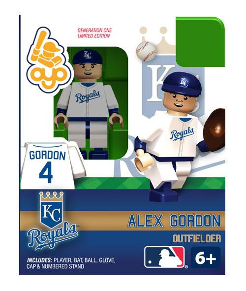 Kansas City Royals MLB Generation One Alex Gordon Minifigure