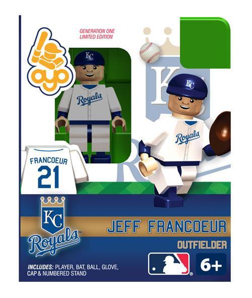Kansas City Royals MLB Generation One Jeff Francoeur Minifigure