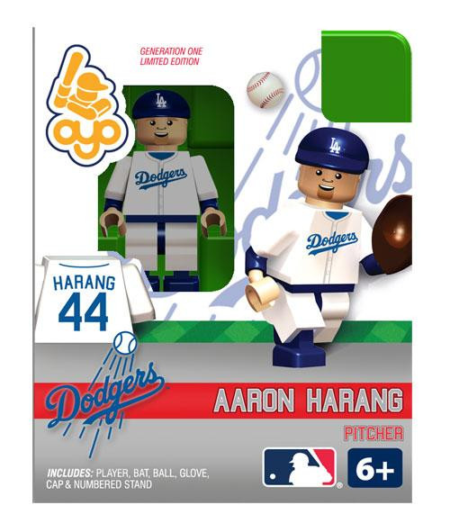 Los Angeles Dodgers MLB Generation One Aaron Harang Minifigure