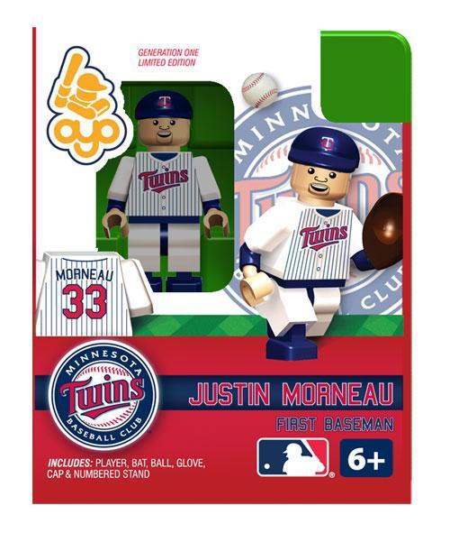 Minnesota Twins MLB Generation One Justin Morneau Minifigure