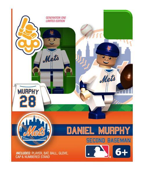 New York Mets MLB Generation One Daniel Murphy Minifigure