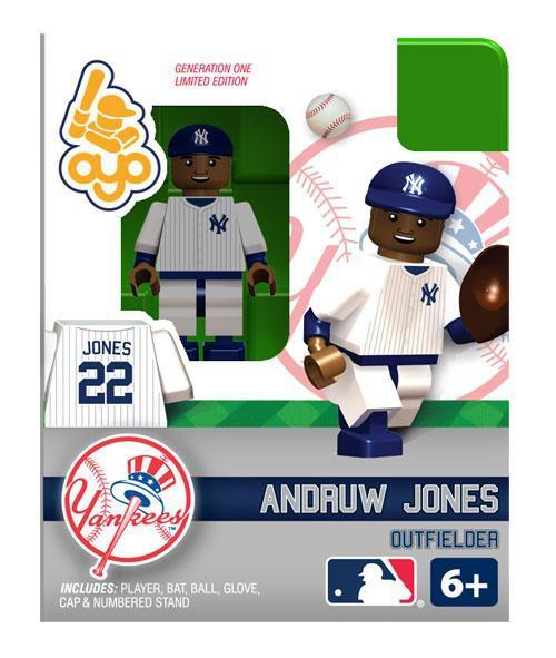 New York Yankees MLB Generation One Andruw Jones Minifigure