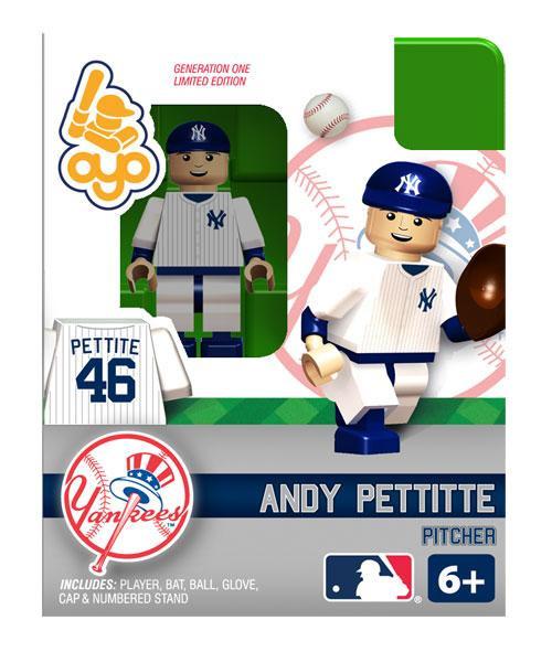New York Yankees MLB Generation One Andy Pettitte Minifigure