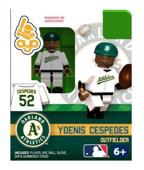 Oakland A's MLB Generation One Yoenis Cespedes Minifigure