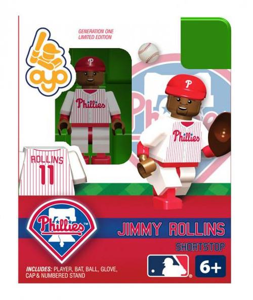 Philadelphia Phillies MLB Generation One Jimmy Rollins Minifigure