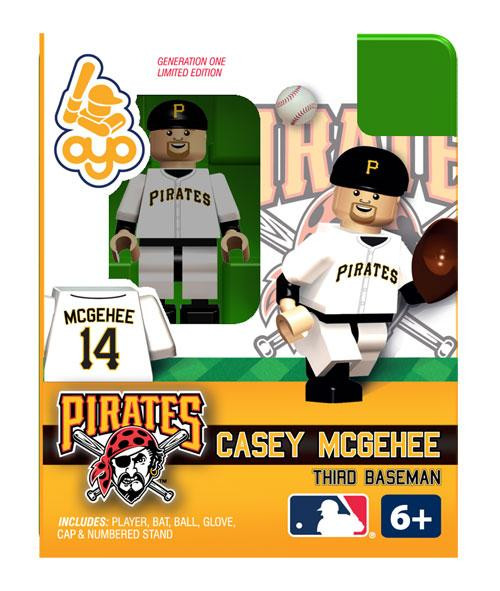 Pittsburgh Pirates MLB Generation One Casey McGehee Minifigure