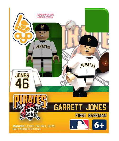 Pittsburgh Pirates MLB Generation One Garrett Jones Minifigure