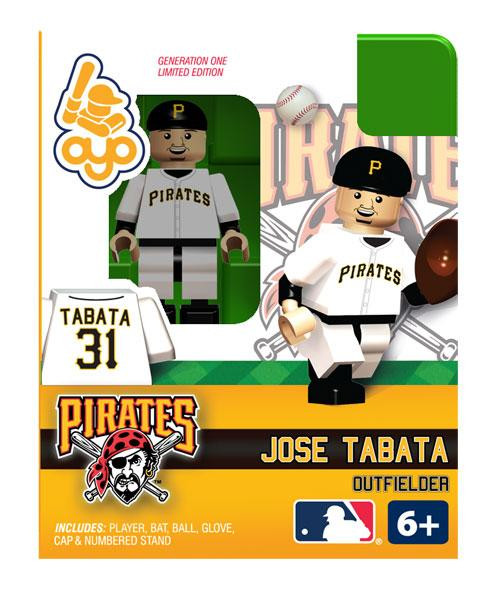 Pittsburgh Pirates MLB Generation One Jose Tabata Minifigure