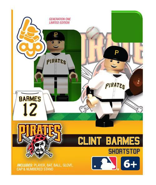 Pittsburgh Pirates MLB Generation One Clint Barmes Minifigure