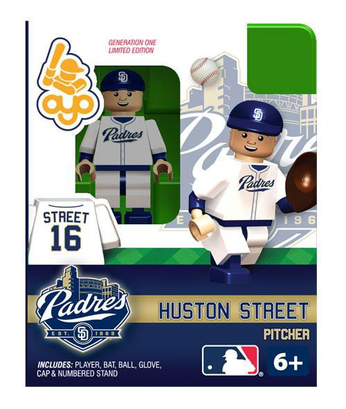 Saint Diego Padres MLB Generation One Huston Street Minifigure