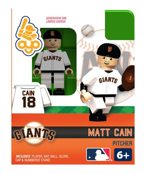 San Francisco Giants MLB Generation One Matt Cain Minifigure