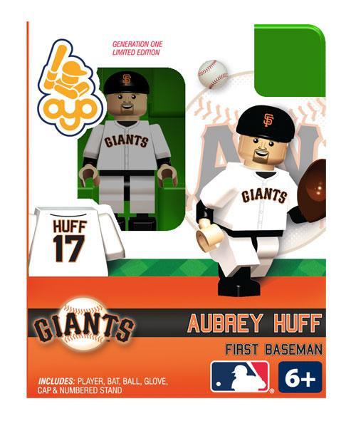 San Francisco Giants MLB Generation One Aubrey Huff Minifigure