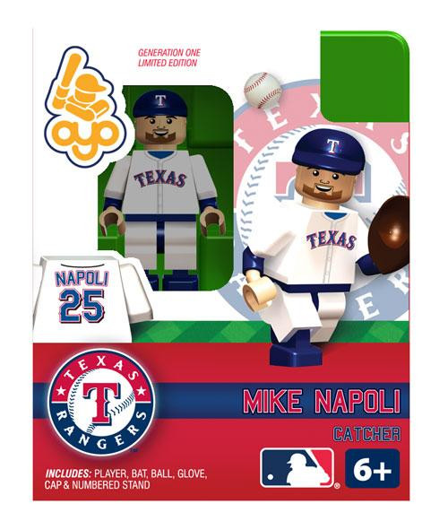 Texas Rangers MLB Generation One Mike Napoli Minifigure