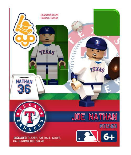 Texas Rangers MLB Generation One Joe Nathan Minifigure