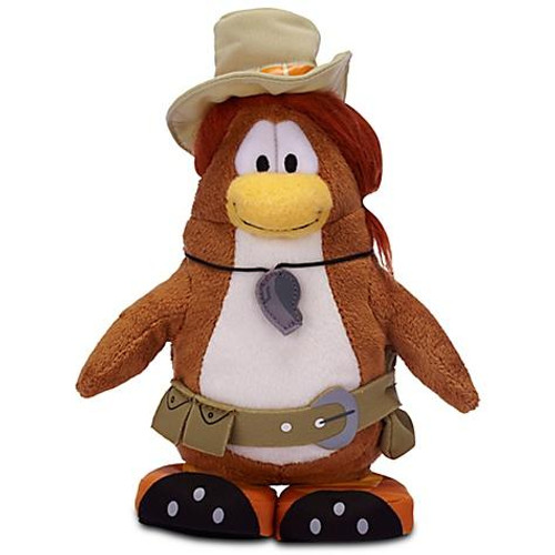 Club Penguin Series 16 Puffle Handler 6.5-Inch Plush Figure