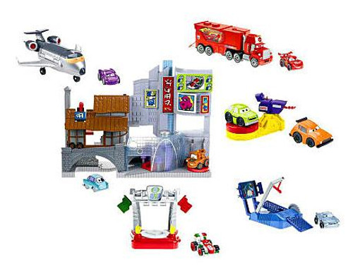 Fisher Price Disney Cars Cars 2 Imaginext Race Around the World Exclusive Playset