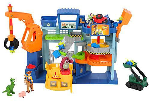 Fisher Price Toy Story 3 Imaginext Landfill Playset & Figure Pack Exclusive 3-Inch Figure Set