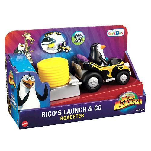 World of Madagascar Rico's Launch & Go Roadster Exclusive