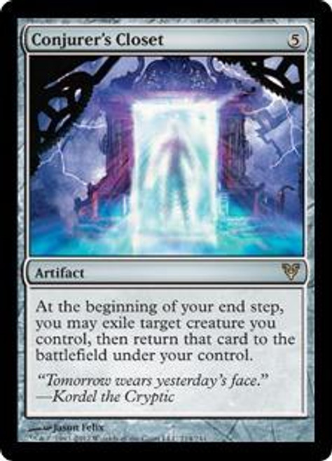 MtG Avacyn Restored Rare Conjurer's Closet #214