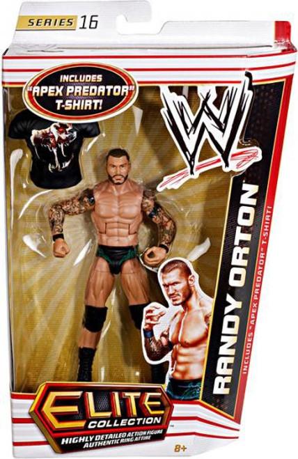 WWE Wrestling Elite Series 16 Randy Orton Action Figure [Apex Predator T-Shirt]