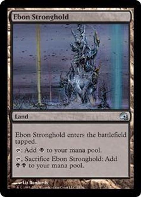 MtG Premium Deck Series: Graveborn Uncommon Foil Ebon Stronghold #25