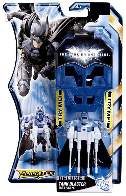 The Dark Knight Rises QuickTek Batman Action Figure [Tank Blaster]
