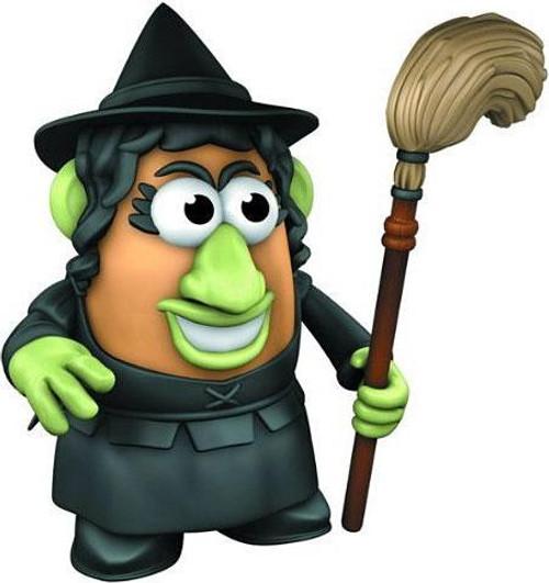 The Wizard of Oz Wicked Witch Mr. Potato Head