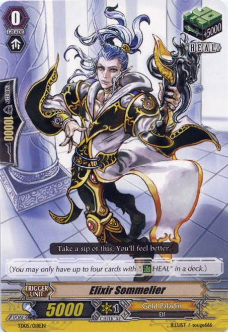 Cardfight Vanguard Slash of the Silver Wolf Fixed Elixir Sommelier #018