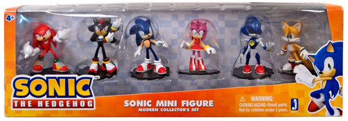Sonic The Hedgehog 20th Anniversary Sonic Collector's Set Exclusive 2-Inch Mini Figure 6-Pack