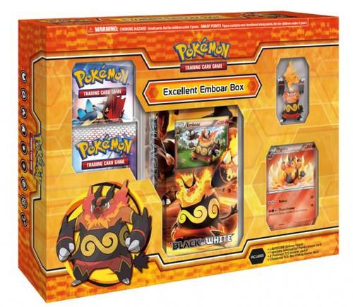 Pokemon Black & White Evolution Excellent Emboar Box [Sealed]