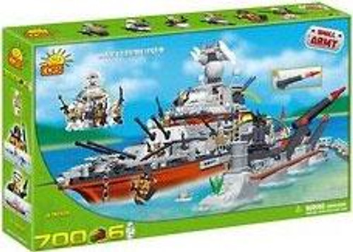 COBI Blocks Small Army Battlecruiser Set #4702