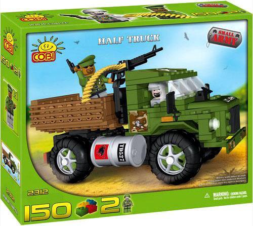 COBI Blocks Small Army Half Truck Set #2312