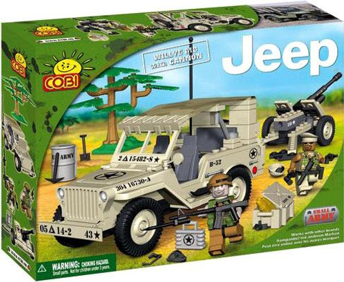 COBI Blocks Jeep Willys MB with Cannon Set #24201