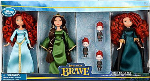 Disney / Pixar Brave Mini Doll Set Exclusive