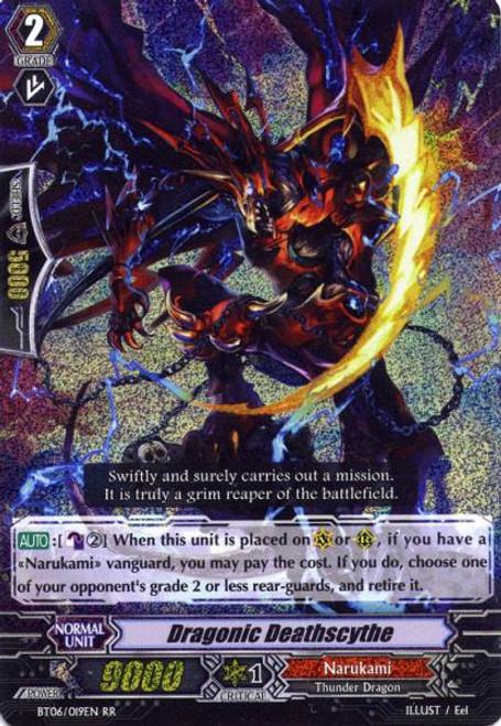 Cardfight Vanguard Breaker of Limits RR Rare Dragonic Death Scythe BT06-019EN