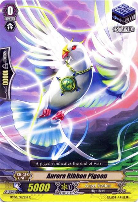 Cardfight Vanguard Breaker of Limits Common Aurora Ribbon Pigeon BT06/057
