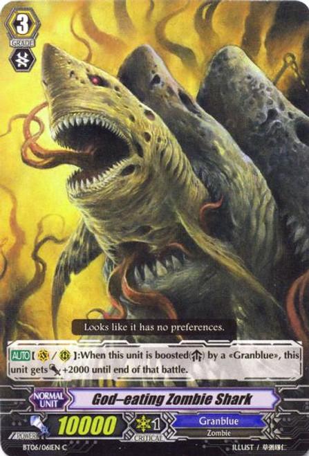Cardfight Vanguard Breaker of Limits Common God-Eating Zombie Shark BT06/061