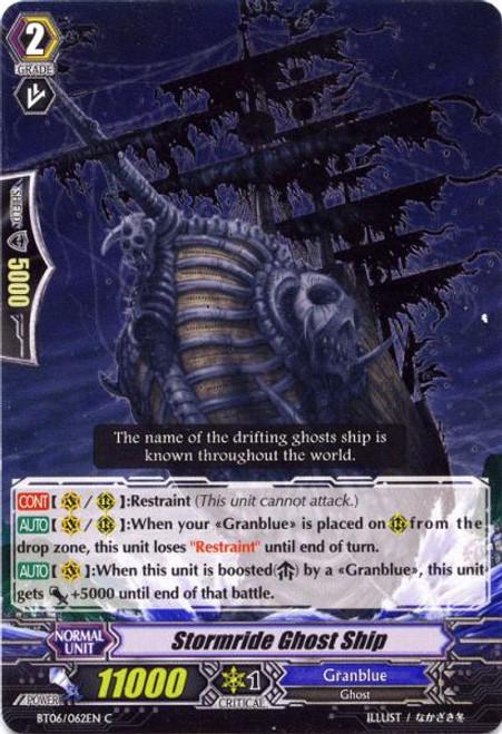 Cardfight Vanguard Breaker of Limits Common Stormride Ghost Ship BT06/062