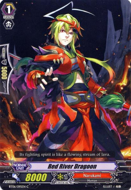 Cardfight Vanguard Breaker of Limits Common Red River Dragoon BT06/095