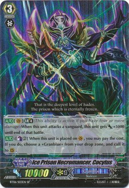 Cardfight Vanguard Breaker of Limits SP Ice Prison Necromancer, Kokyutos BT06/S03