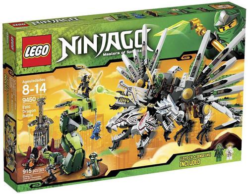 LEGO Ninjago Epic Dragon Battle Set #9450