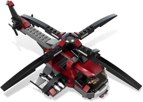 LEGO Marvel Super Heroes Dark Red Assault Helicopter Loose Vehicle #2 [Loose]
