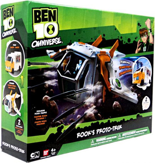 Ben 10 Omniverse Watch Rook's Proto-Truk Exclusive Action Figure Vehicle