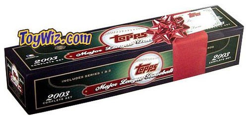MLB 2003 Topps Baseball Cards Complete Set [Holiday Edition] [Factory Sealed]