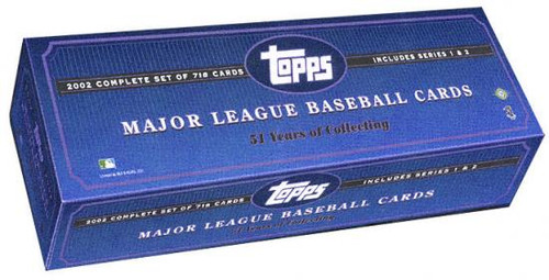 MLB 2002 Topps Baseball Cards Complete Set [Factory Sealed]