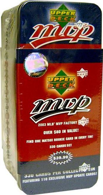 MLB 2003 MVP Baseball Cards Complete Set
