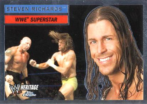 WWE Wrestling Topps Chrome 2006 WWE Heritage Superstar Steven Richards #32